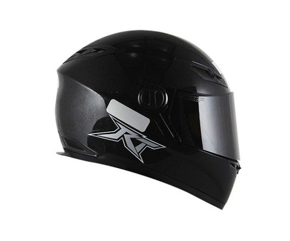 Capacete Race Tech RT501 Monocolor Black