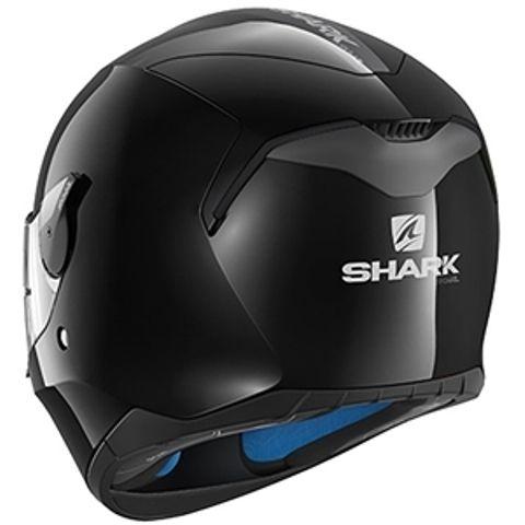 CAPACETE SHARK D-SKWAL BLANK BLK