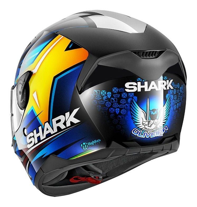 Capacete Shark D-Skwal Oliveira KBY