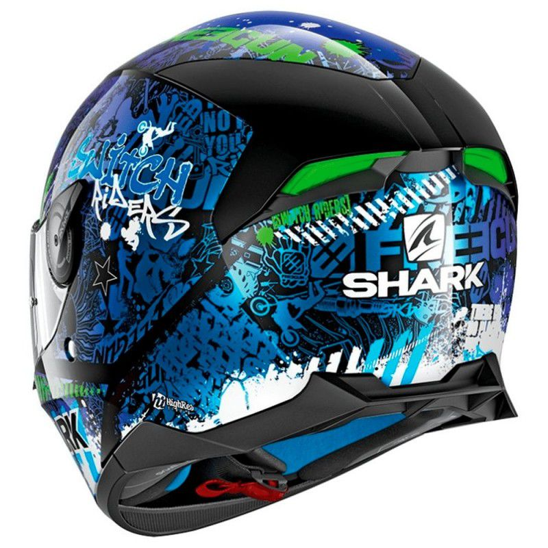Capacete Shark D-Skwal Switch Rider - KBG