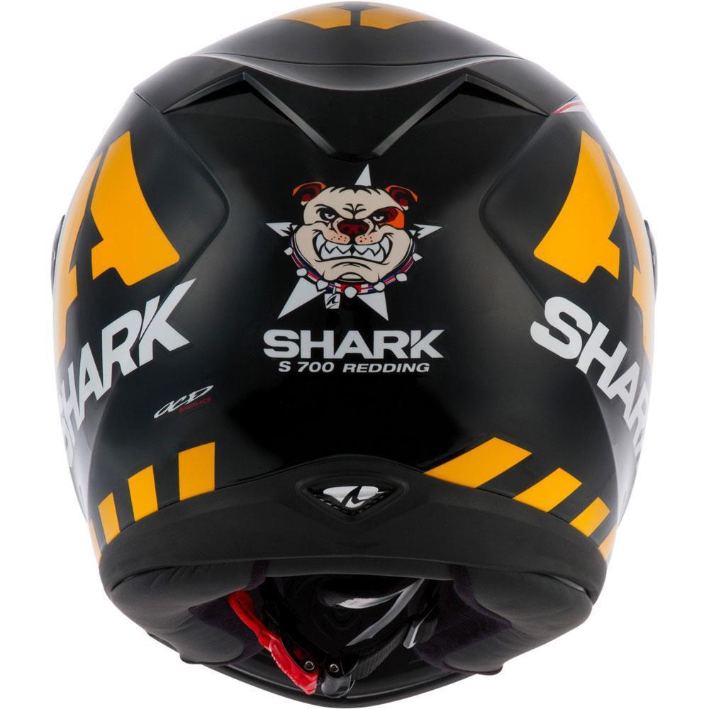 Capacete Shark S700 Redding Matt KYW New