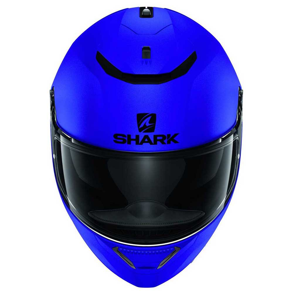 CAPACETE SHARK SPARTAN 1.2 BLANK MAT BLUE
