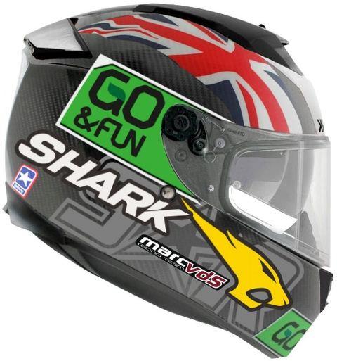 CAPACETE SHARK SPEED-R 2 REPLICA REDDING  DGY
