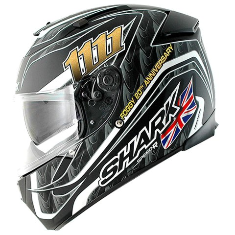 CAPACETE SHARK SPEED-R 2 RÉPLICA FOGGY 20TH BIRTHDAY MATT KBS