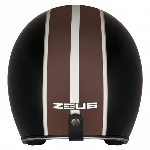 CAPACETE ZEUS 380H SOLID DARK BROWN/K18 BROWN