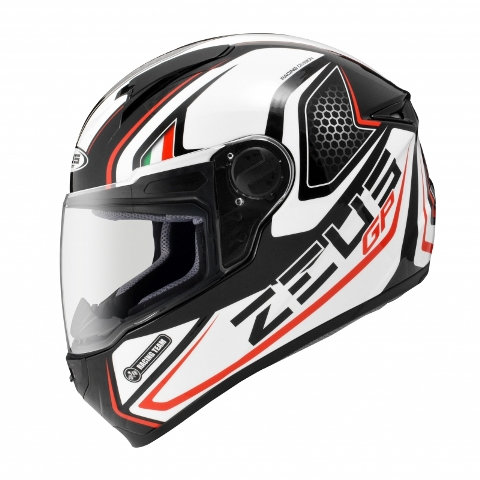 CAPACETE ZEUS 811 SOLID BLACK AL3 RED