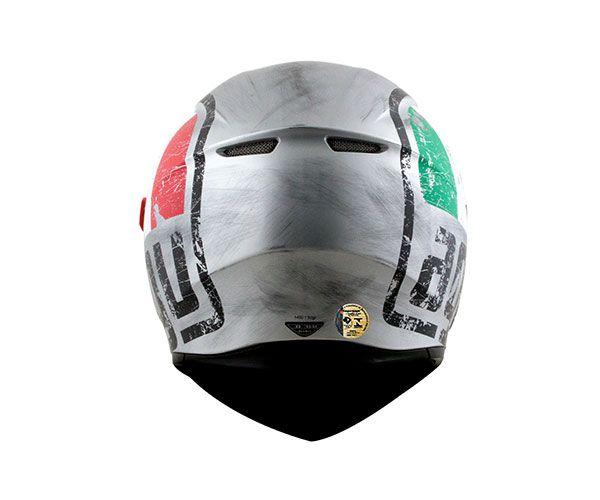 Capacete AGV K3-SV Scudetto Matt Silver