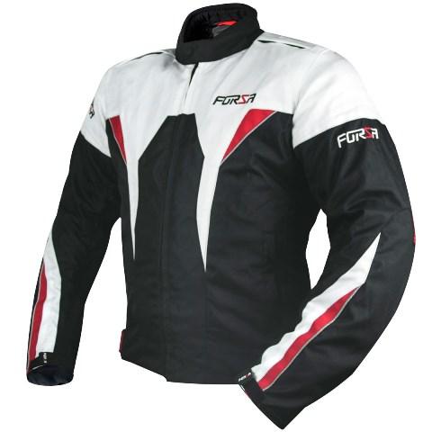 Jaqueta Forza Gavea Impermeável Branca / Preta / Vermelha