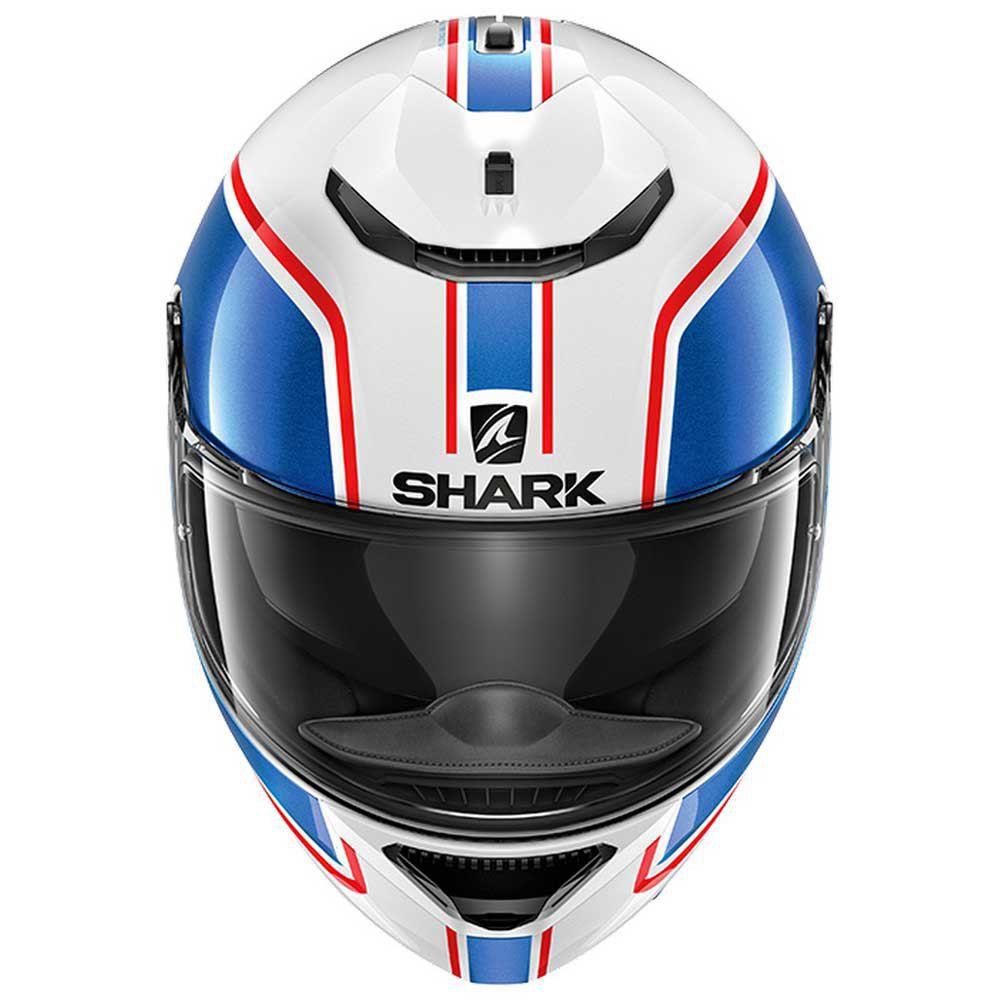 Shark Spartan Priona Branco Azul Vermelho