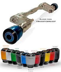 Slider Procton CBR650F/CB650F - 14/15 (NYLON ROTATIVO)
