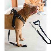Coleira Peitoral Cachorro Guia Adaptador Fila Pastor extra grande