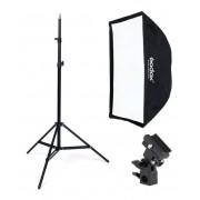 Estúdios Fotográficos  Softbox p/ flash 60x60 Greika ou godox