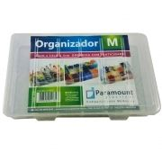 kit 15 Box Caixa Organizador Paramount 14 Divisorias M 174