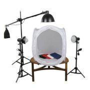 Kit de Iluminação para Fotografia Still 110V ou 220v  - Greika Pk-ST10