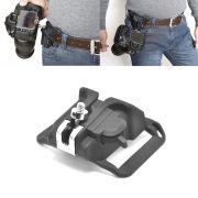 Suporte De Cinto Para Câmera Dslr Canon Nikon Sony ( Grip )