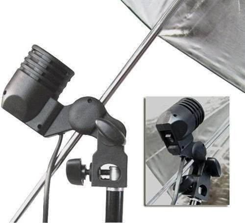2 Kit Iluminação Estúdio Luz Continua Foto/vídeo com lampada 170W Profissional