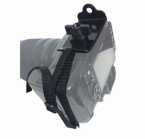 Alça Simples para uma camera DSLR Camuflada
