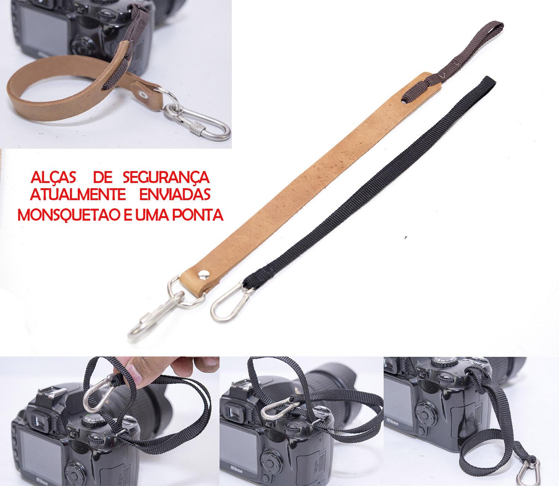 Alça Lateral Ombrera Em Couro Legitimo para Cameras Dslr