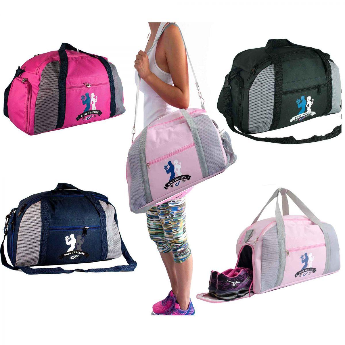 8f39e5fe90 Bolsa Academia Com Porta Tenis fitness - DED CASES