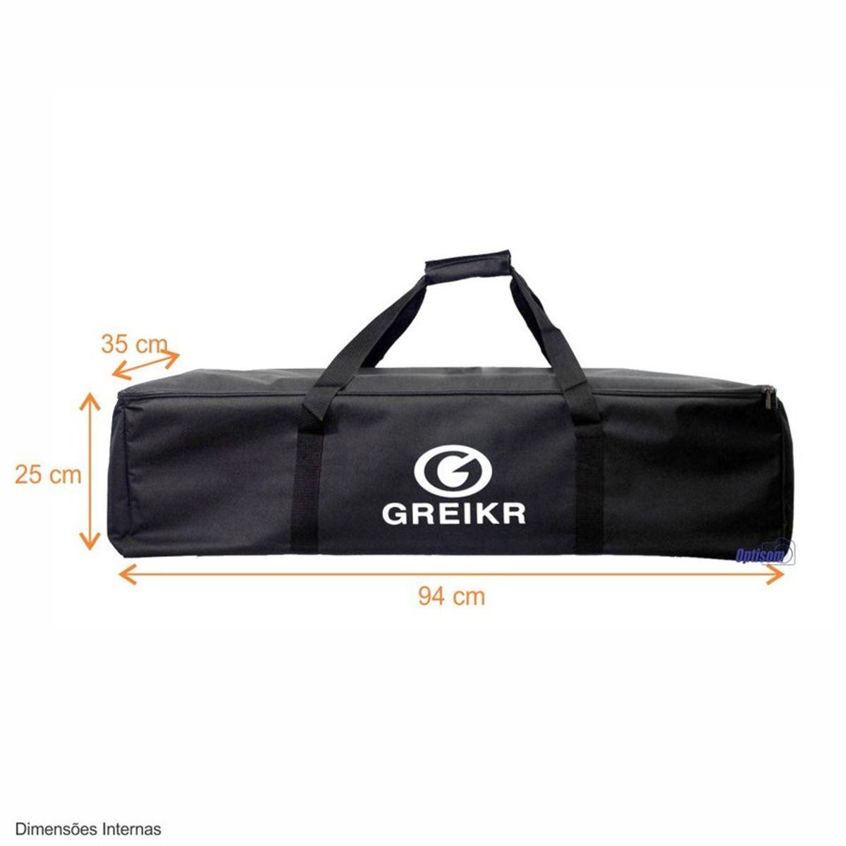Bolsa Greika Ya5027 Para equipamentos foto e vídeo - 94cm