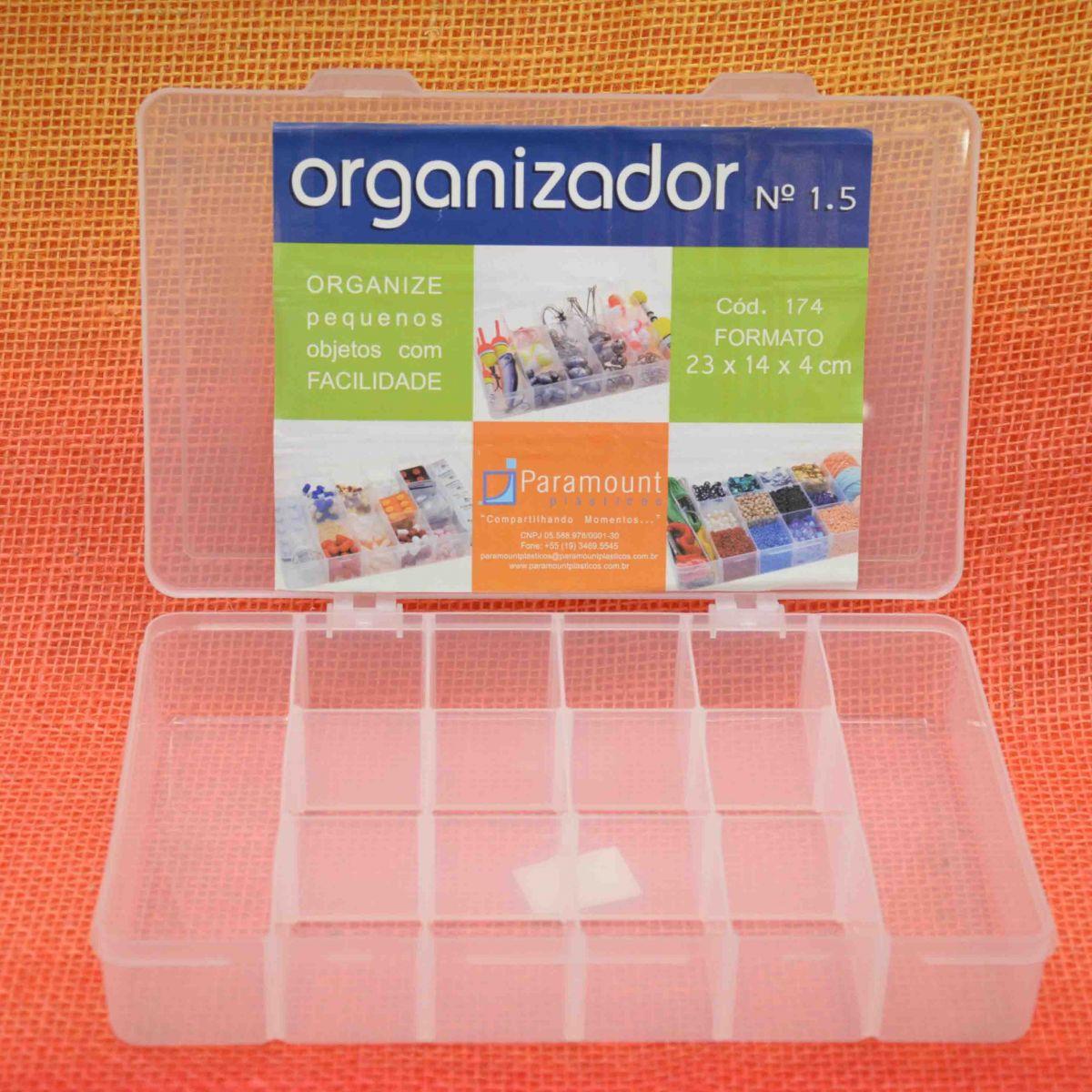 Box Caixa Organizador Paramount 14 Divisorias M - 174