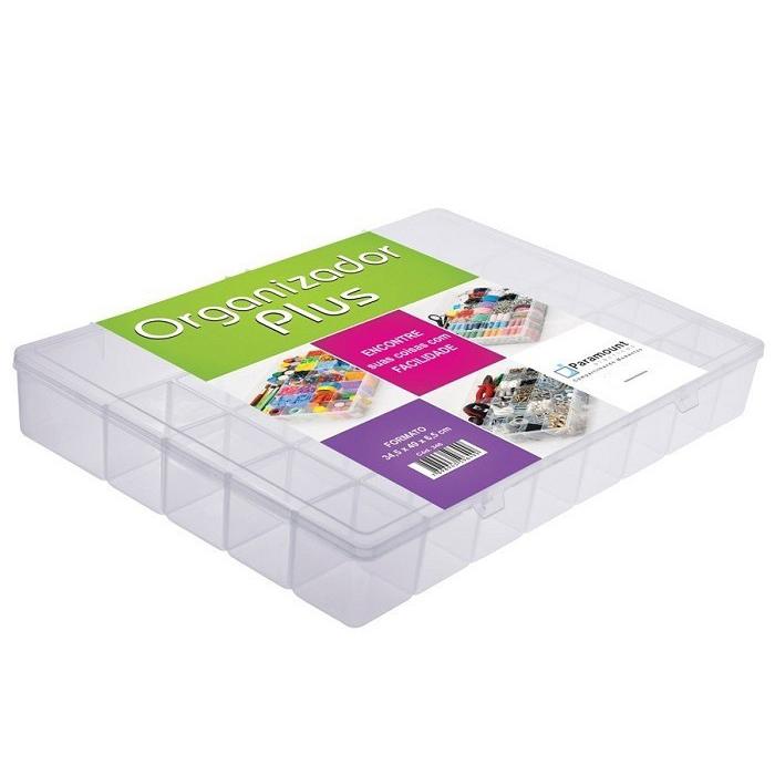 Box Caixa Organizador Paramount 34 Divisorias PLUS - 346