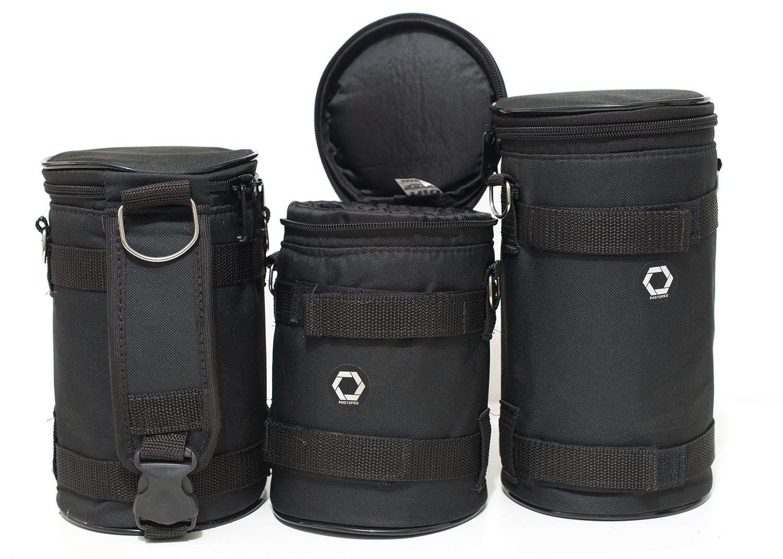 Case Rigido Extra largo para lentes profissionais