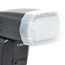 Difusor Flash Canon 600ex Rt 568ex 565ex V860ii Branco Tt685