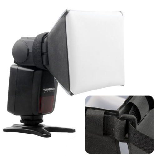 Difusor P/ Flash Softbox Pixco Universal Canon Sony Nikon