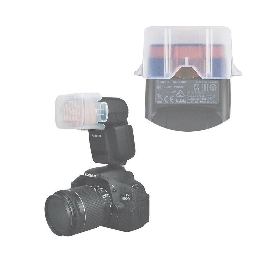 Difusor Plástico Para Flash Speedlite Canon 430ex Iii-rt