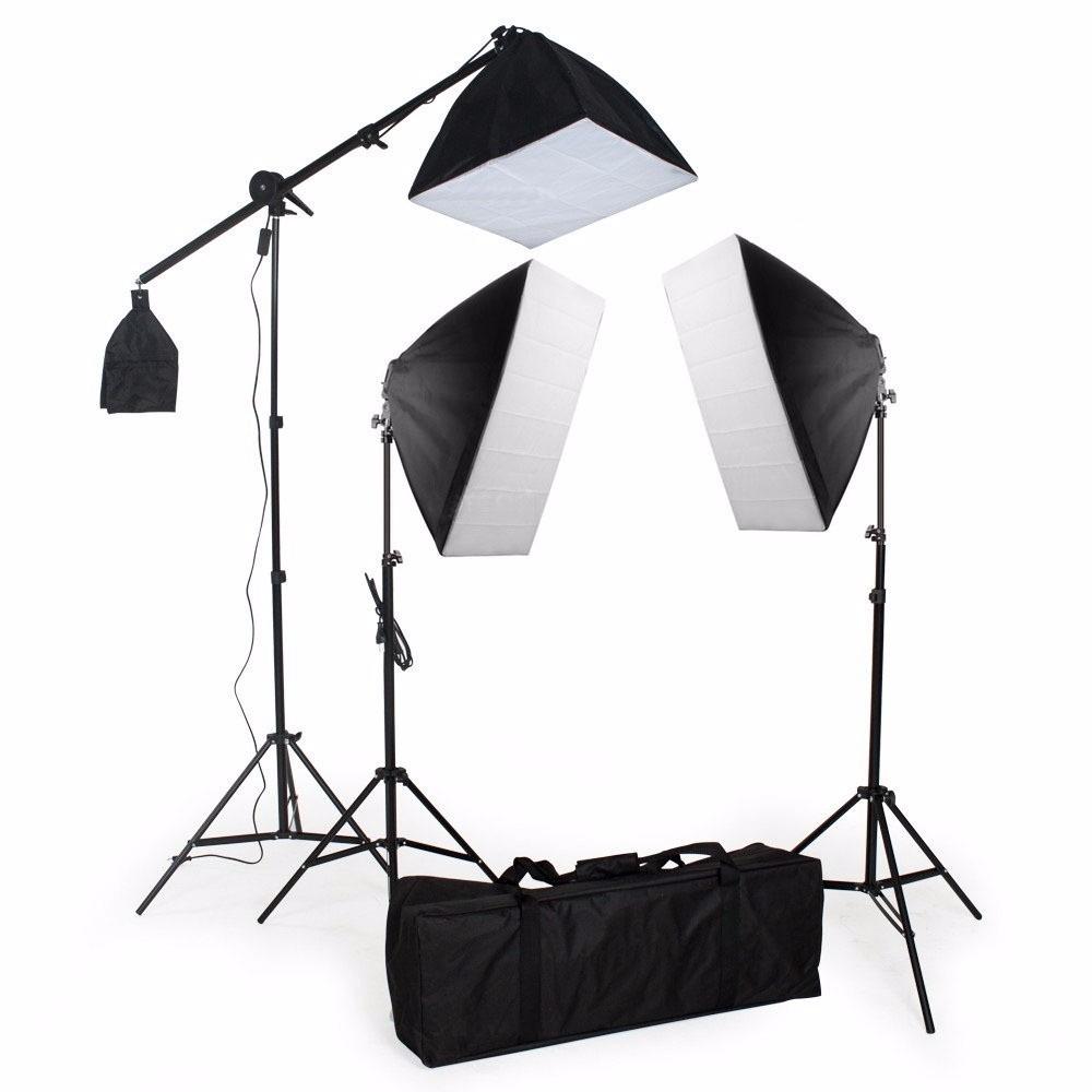 Kit Estudio de Iluminação Para Fotografia Modelo Pk-sb03  greika