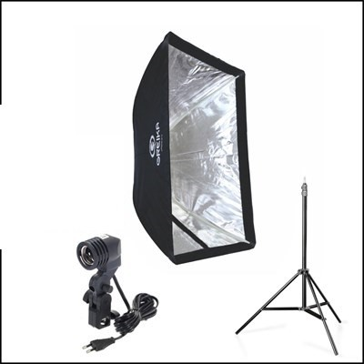 Estúdios Fotográficos  Softbox luz continua 60x60 Iluminação Greika ou godox