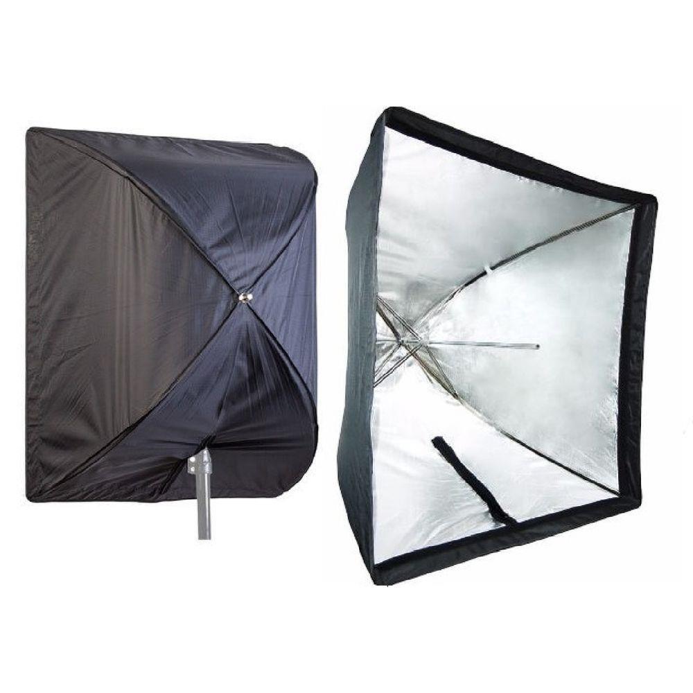 Estúdios Fotográficos  Softbox luz continua 90x90 Iluminação Greika ou godox
