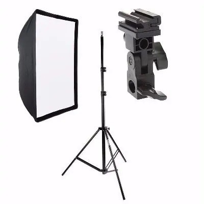Estúdios Fotográficos  Softbox p/ flash 90x90 Greika ou godox