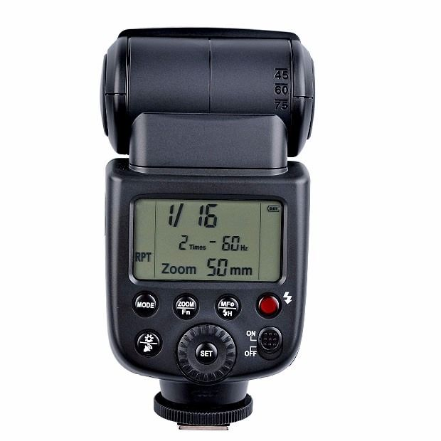 Flash Godox V850 Universal serve Canon Nikon Sony c/ bateria
