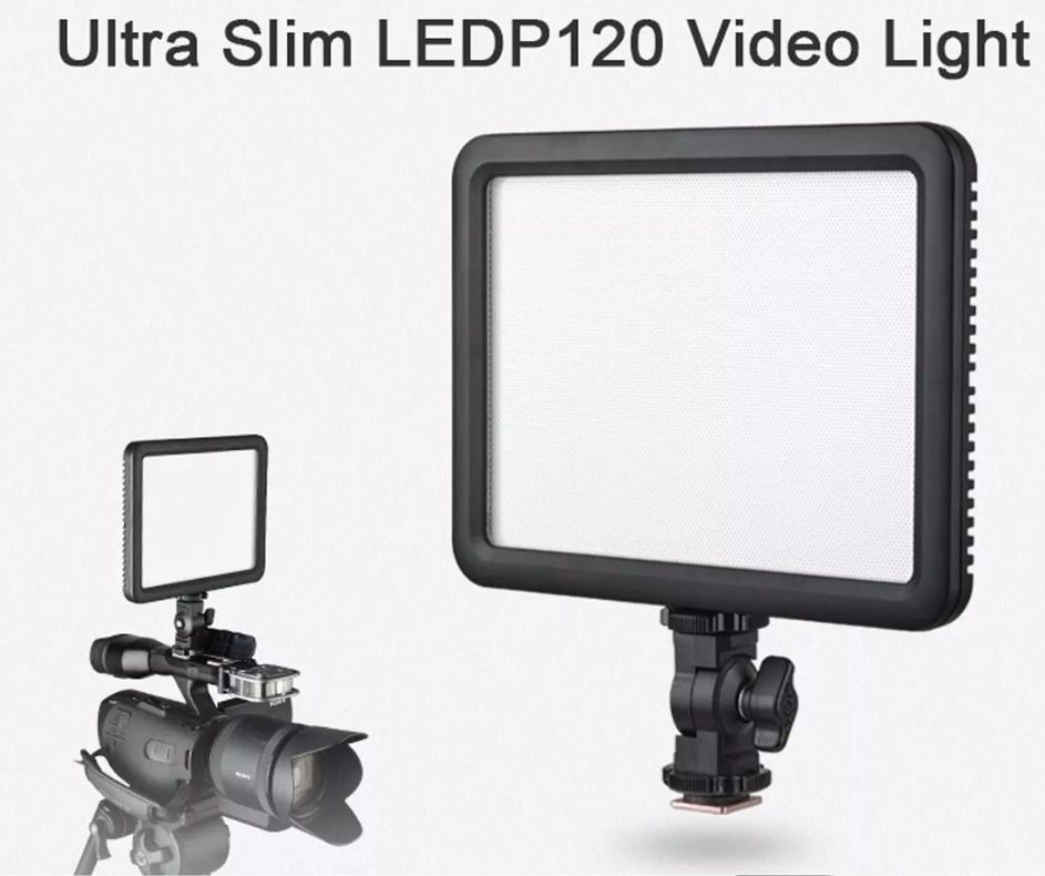 Iluminador Fino Led P120 Light Godox Video Dsrl Canon Nikon