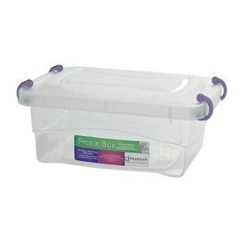 Kit 16 Box Caixa Organizador Paramount Marmita 1 litro