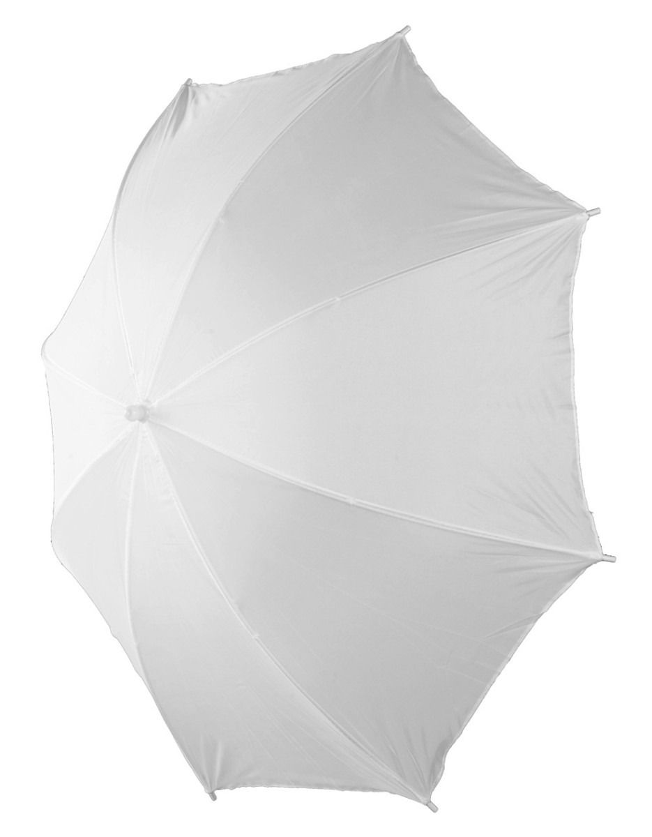 kit 2 Sombrinha Refletora Branca 101cm Suavizadora