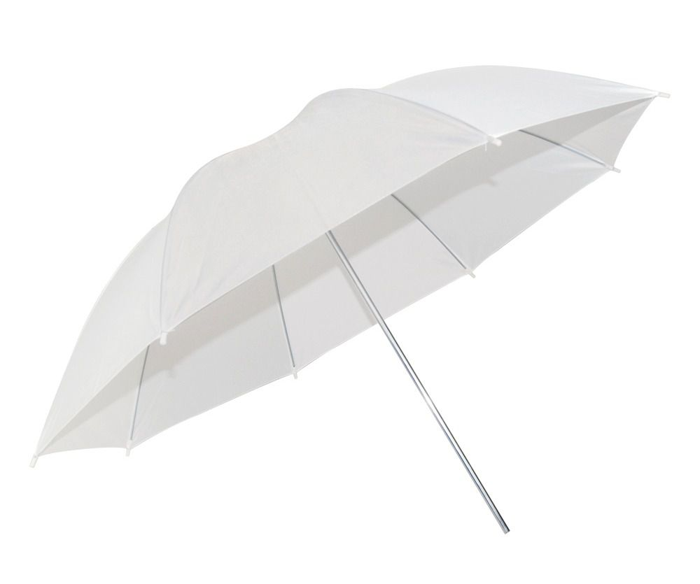 kit 2 Sombrinha Refletora Branca 91cm Suavisadora