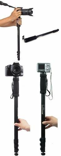kit 4 Monopé Weifeng Wt-1003 1,70m Sony Nikon Canon Até 3kg