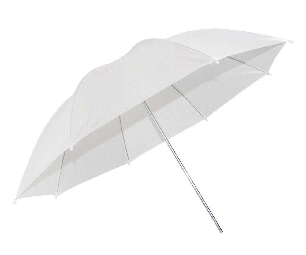 kit 4 Sombrinha Refletora Branca 91cm Suavisadora