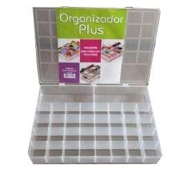 kit 6 Box Caixa Organizador Paramount 20 Divisorias PLUS 346
