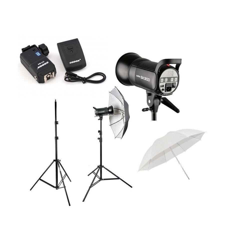 Kit Apolo II Para Estudio Fotografico Greika-110V