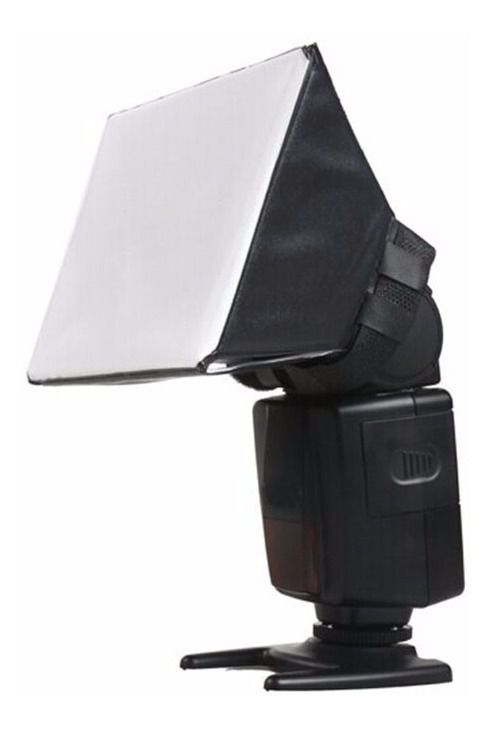 Kit de 2 Difusor P/ Flash Softbox Pixco Universal Canon Sony Nikon