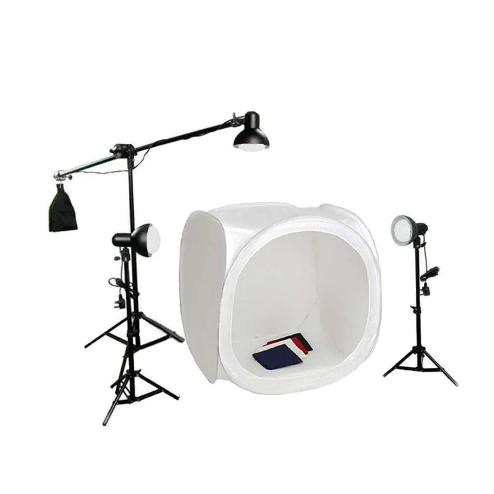 Kit de Iluminação para Fotografia Still 110/220v  - Greika Pk-ST10-3