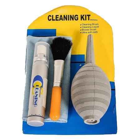 Kit de Limpeza WOA2033B 4x1 Greika para câmeras profissionais