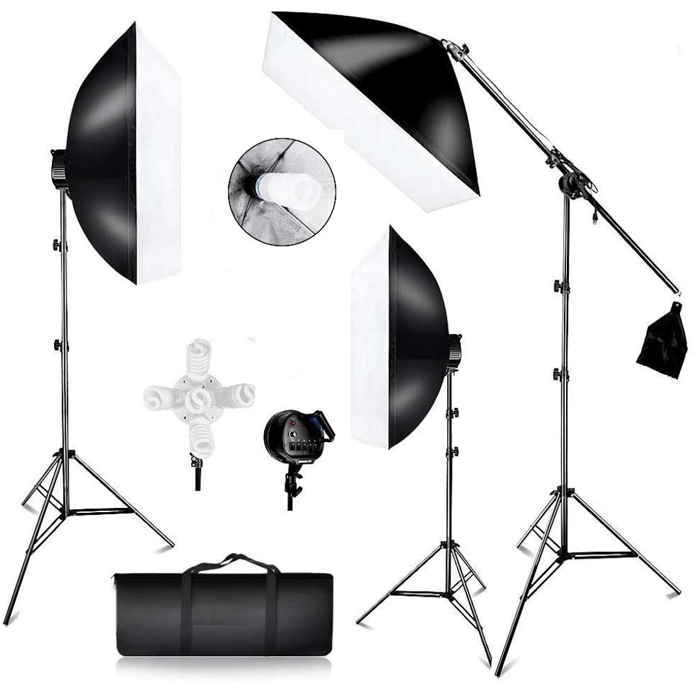 Kit Estudio de Iluminação Para Fotografia Modelo sb03 Light