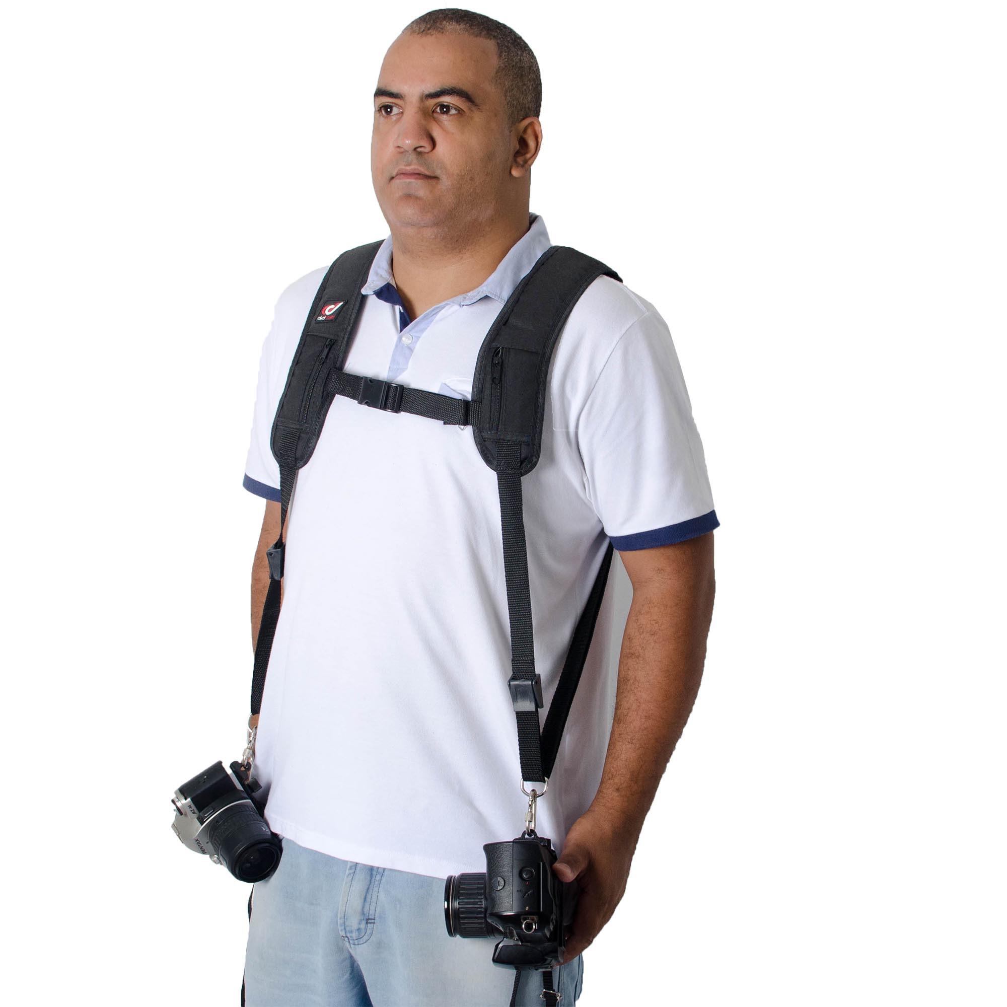 kit Mochila Fotografica + alça Photopro Oreon Profissional