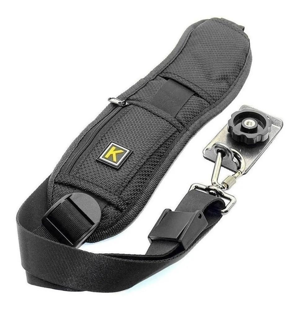 kit Mochila Pop + alça tiracolo p/ 1 Câmera  DSLR e cameras profissionais