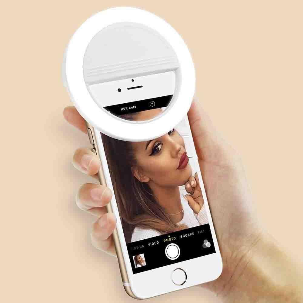 Luz De Selfie Ring Light Anel Led Flash Celular Tablet Smart